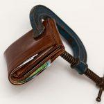 財布圧迫イメージ
